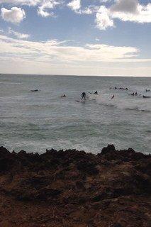 Joe Ellis Surfing