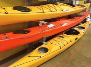 p&H Scorpio sea kayaks