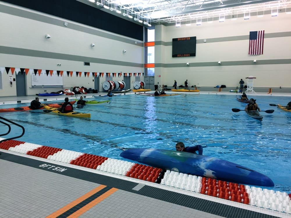 kayak pool session eaton rapids