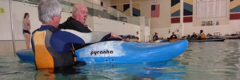 brighton kayak pool lessons kayak rolling