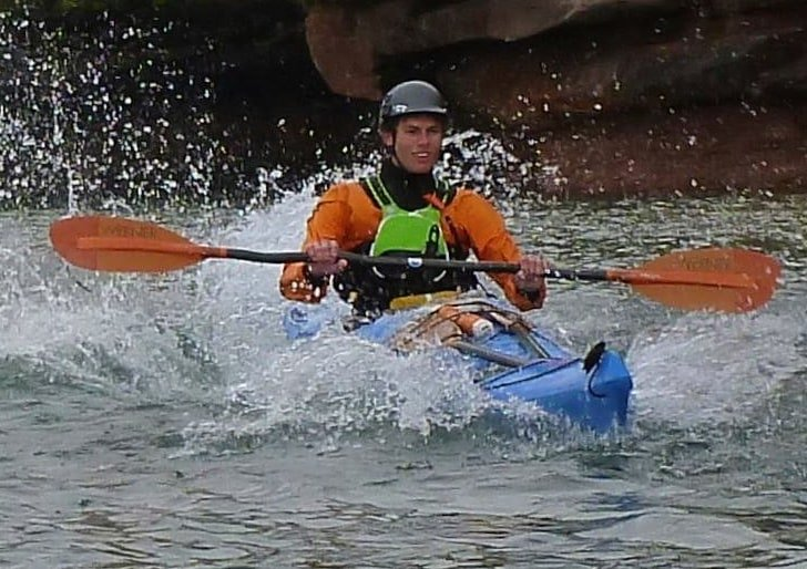 ACA Level 3 coastal kayak skills training