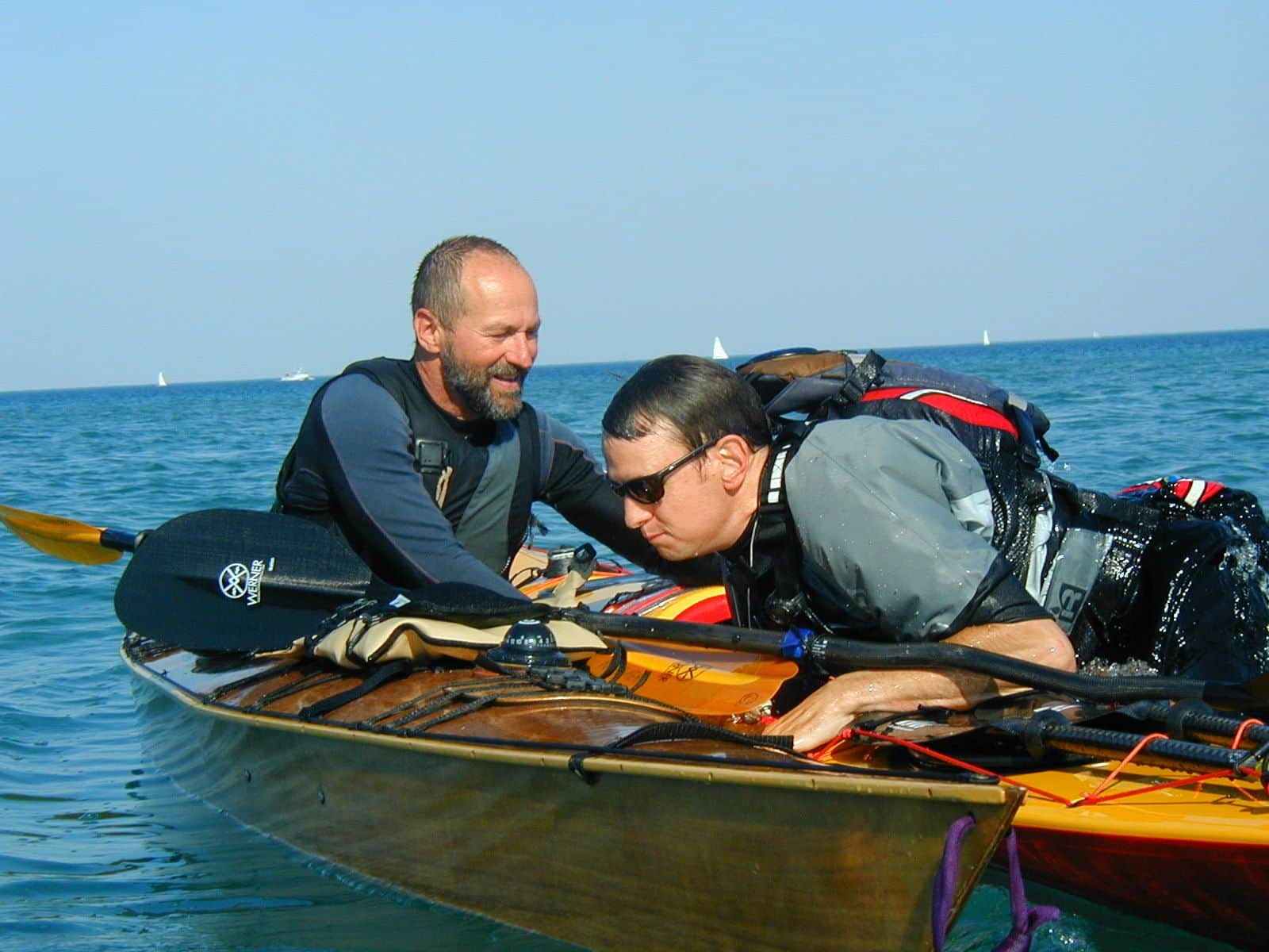 british canoeing 3 star sea kayak rescues