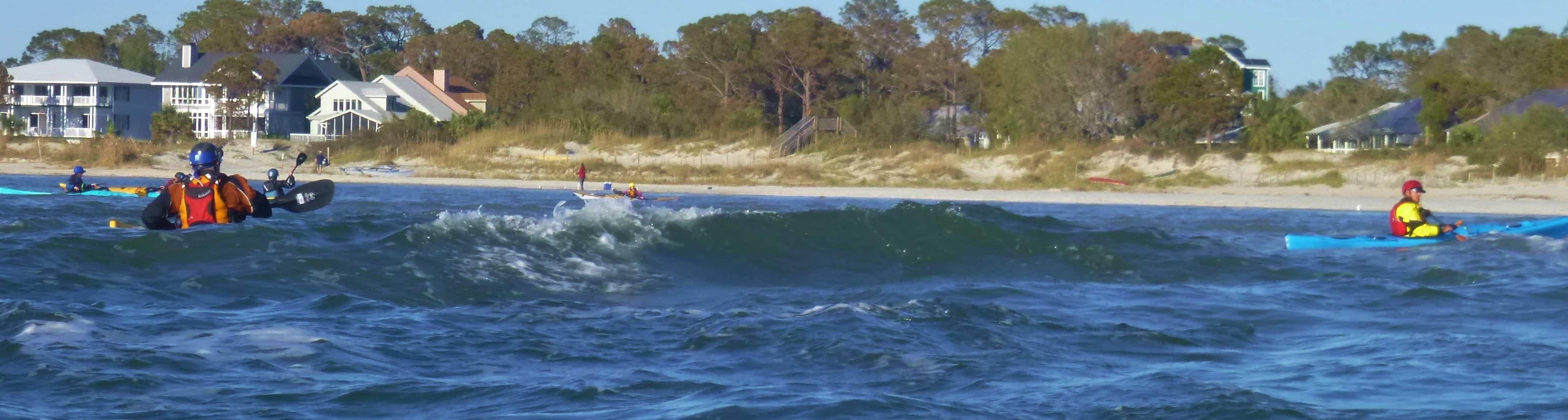 Tybee Island Ocean Skills Week playing in the Triangle