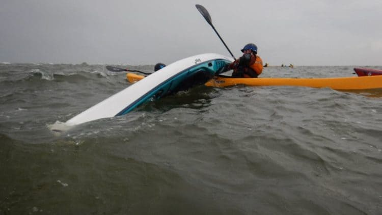 british canoeing 3 star sea kayak assisted rescue