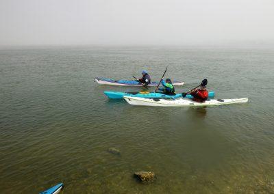paddling aong shore matanzas inlet