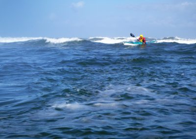 tide race with kayaker matanzas inlet